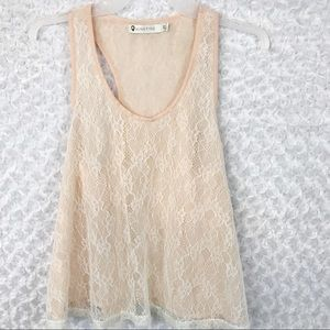 MINKPINK Lace Top